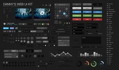 Danny's UI Web Kit Dark