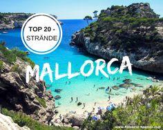 Mallorcas Top 20 - Strände ⛱ Die schönsten Buchten und Strände Mallorcas findet ihr auf https://www.reiseziel-spanien.com/spanische-urlaubsziele/schoene-straende-spanien/mallorca/