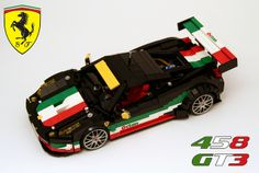 "LEGO Ferrari 458 GT3 ""Tribute to Italy"""