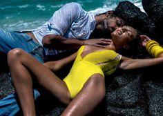 Candice Swanepoel & Marlon Teixeira: Osmoze Jeans 2015 Just sexinesssssss