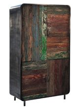 Colorful Recycled Boat Wood Collection, Colorful Recycled Boat Wood Collection direct from Indus Trade in India