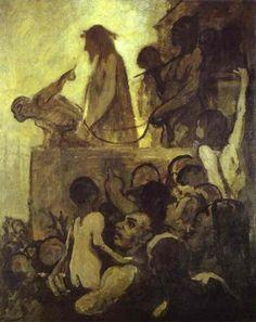 Ecce Homo, Honore Daumier