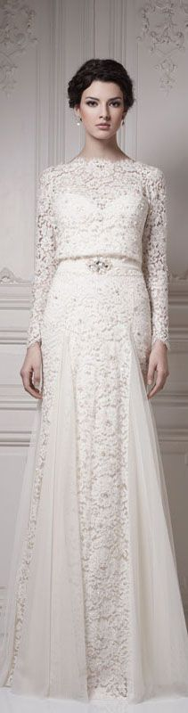 love the cotton lace panelling