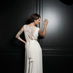 Robe de Mariée by Leutellier Tesson Couture