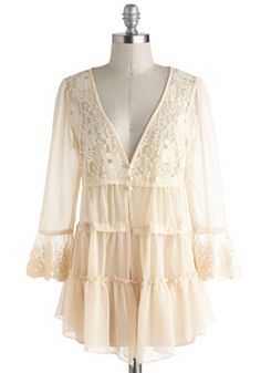 Lace and Breezy Weather Cardigan, #ModCloth - Wish it came in plus sized.