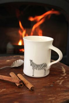 Cup of tea to warm you up on a cold day...
