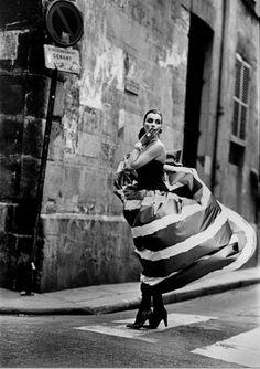 1985 - YvesSaint Laurent Couture dress by Bart Van Leeuwen