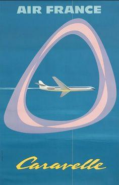 Caravelle Jet - Air France