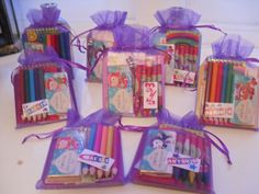 Children's Activity Favour Bags