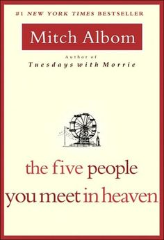 The 5 People You Meet In Heaven - thought provoking, with heart wrenching twist at the end. Makes you realize, that the lives you touch are all around you.