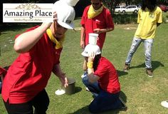 The Amazing Place in Sandton recently hsoted a team from Standard Bank for a Corporate Fun Day team building event. The Corporate Fun Day event is a great activity for any occasion which can be bot… Team Building Venues, Good Day, The Good Place, In The Heart, A Boutique, Beautiful Gardens, A Team, Swimming Pools, Relax