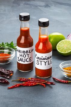 Chili Pepper Hot Sauce Recipe, Hot Sauce Recipes, Spicy Sauce, New Mexico Chili Powder, Bbq Sauce Ingredients, Make Your Own, Make It Yourself, Distilled White Vinegar, How To Can Tomatoes
