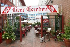 The Firehouse Deli in Fairfield, Conn. has a new beer garden that is open Wednesday through Sunday nights. Photo: Unknown, B.K. Angeletti / ...