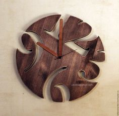 Часы для дома ручной работы. Часы из дерева. Юлия Фёдорова. Интернет-магазин Ярмарка Мастеров. Часы, интерьерные часы