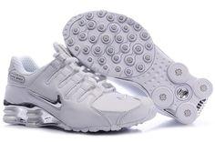 the best attitude cd7e7 6d30f Women Nike Shox NZ Shoes Whites Nike