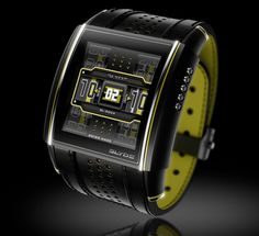 """Sweet looking watch SLYDE Sport Watches With Matching """"Engines"""" 2013"""