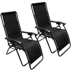 Lounge ChairsZero Gravity Chairs Case Of 2 Black Lounge Patio Chairs Outdoor Yard BeachChairPatio Furniture SetsFor camping pool days patio furniture and so much moreGuaranteed -- Learn more by visiting the image link.(This is an Amazon affiliate link and I receive a commission for the sales)