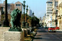 Paseo del Prado, La Habana