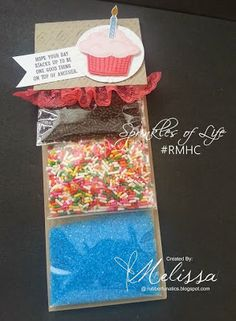 Stampin' Up! Sprinkles of Life by Melissa Davies @rubberfunatics #stampinup #rubberfunatics #controlfreaks #RMHC