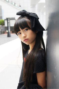 Preteen Girls Fashion, Young Girl Fashion, Little Girl Fashion, Cute Asian Girls, Cute Little Girls, Beautiful Asian Girls, Really Skinny Girls, High Fashion Models, Cute Japanese Girl