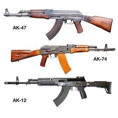 Know Your AK Rifles: AK-47 vs. AK-74 vs. AK-12 http://mountsplus.com/blog/ak-rifles-ak-47-vs-ak-74-vs-ak-12/