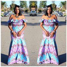 Yes, we excitedly bring to you these admirable Ankara styles…Easter Edition! It's always a good day for us at Wedding Digest when we come across something that makes us want… African Dresses For Women, African Attire, African Wear, African Fashion Dresses, African Women, Ankara Fashion, African Outfits, African Style, Kente Styles
