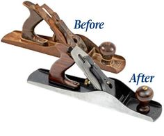 How to restore a hand planes