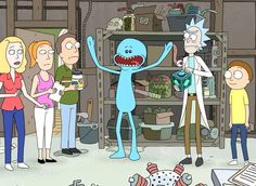 I'm Mr. Meeseeks, look at me! I love rick and morty