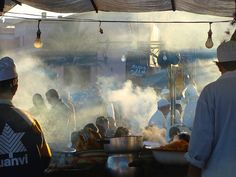 street food in Marrakesh, Morocco