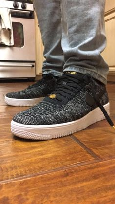 brand new b54ff 81948  PICKUP  Nike Air Force 1 Low Flyknit Quai 54
