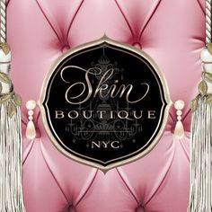 Skin Boutique New York City Feminine Beauty Salon Spa Logo Design