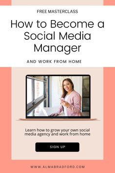 Wondering how to become a social media manager so that you can work from home on your own schedule? Can you really become a social media manager and earn money online? I'm going to show you step-by-step how to get started even if you are a beginner. Watch this FREE training to know more.