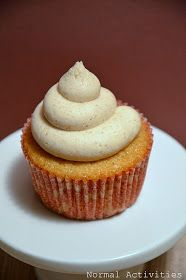 Remember my     pinterest resolution?!?! (see here )   Here's my first of  twelve  pinterest projects!   Chai Latte Cupcakes     They tasted...