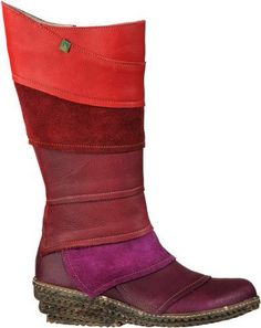 #lovely recylce boots from el natura lista