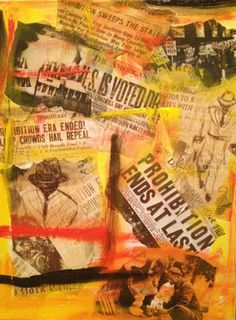 "Saatchi Online Artist Heather Baudet; Mixed Media, ""Mock Up"" #art"