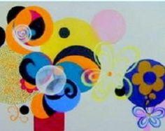 Abstrato pintado a mão 50x150 cod 759