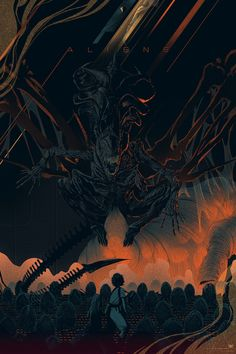 Aliens Mondo by Kevin Tong