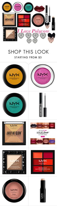 """NYX my world <3"" by cfinney0430 ❤ liked on Polyvore featuring NYX and Seventy Tree"