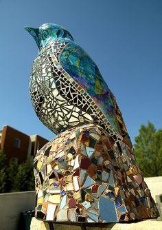 Bird Sculpture, Baltimore Visionary Art Museum