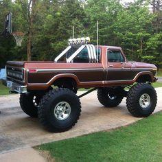 79 Ford Truck, Old Ford Trucks, Old Pickup Trucks, Jeep Truck, Diesel Trucks, Big Trucks, Ford Obs, Ford Diesel, Jeep Pickup