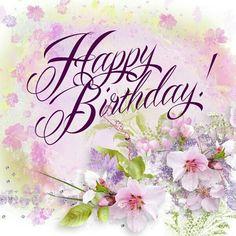Birthday Wishes Flowers 28 Ideas For 2019 Birthday Wishes Flowers, Happy Birthday Wishes Cards, Birthday Card Sayings, Birthday Blessings, Birthday Girl Quotes, Birthday Greeting Cards, Happy Birthday Flower, Happy Birthday Girls, Happy Birthday Meme