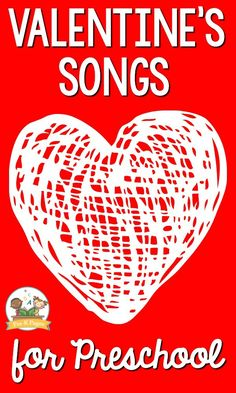 Valentine's Songs for Kids - Pre-K Pages Valentines Songs for Preschool. A list of age-appropriate Valentine's Day songs for your Music Activities For Kids, Songs For Toddlers, Music For Kids, Kids Songs, Preschool Activities, Valentines Songs For Kids, Valentine Music, Valentines Day Activities, Valentine Sensory