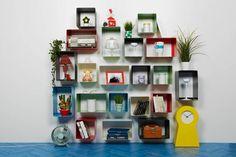 mensole design mipiacemolto E Design, Interior Design, Floating Shelves, Shelving, Bookcase, Home Decor, Houses, Nest Design, Shelves