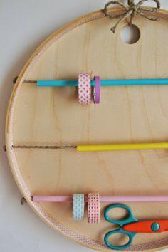 mommo design: Washi Tape Organizer from Ikea Tray BRAKIG