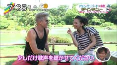Lilypop:P@----: Adam Lambert on Tokyo TV. Bravo!