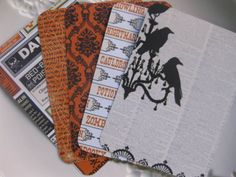 Halloween Journal/Project Life Cards 3 x 4