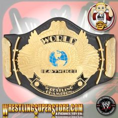 WWE Winged Eagle Championship Adult Size Replica Belt (Next Generation)