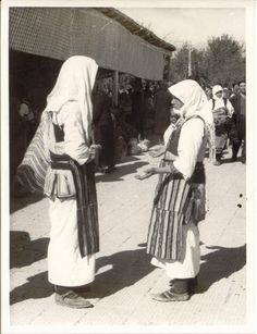 Ohrid market [c1950] (Macedonia)