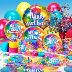 Party supplies for kids birthdays