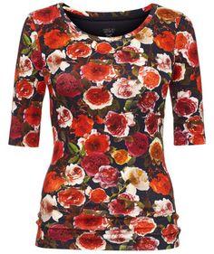 Damen Shirt #marccain #shirt #flowers